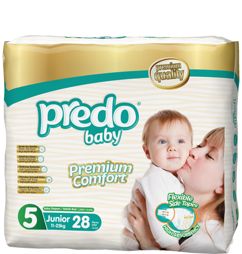 Predo Baby Size 5 Regular Pack