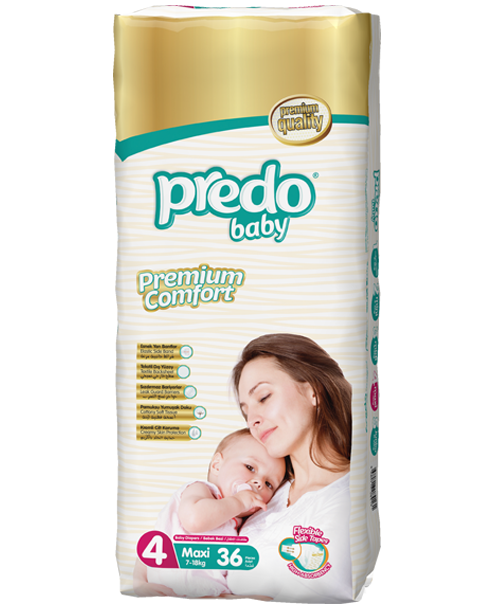 Predo Baby Size 4 Regular Pack