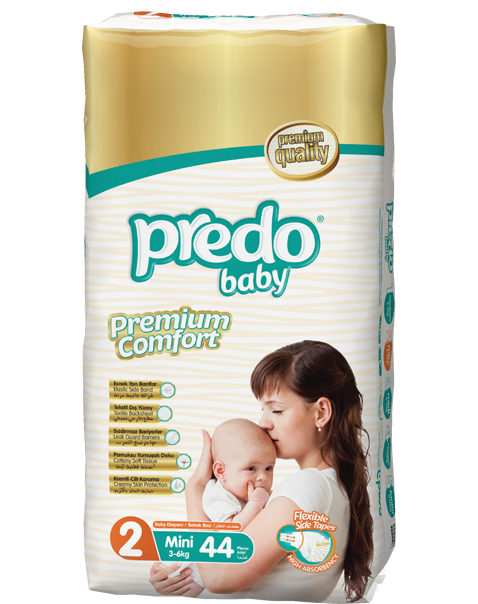Predo Baby Size 2 Regular Pack