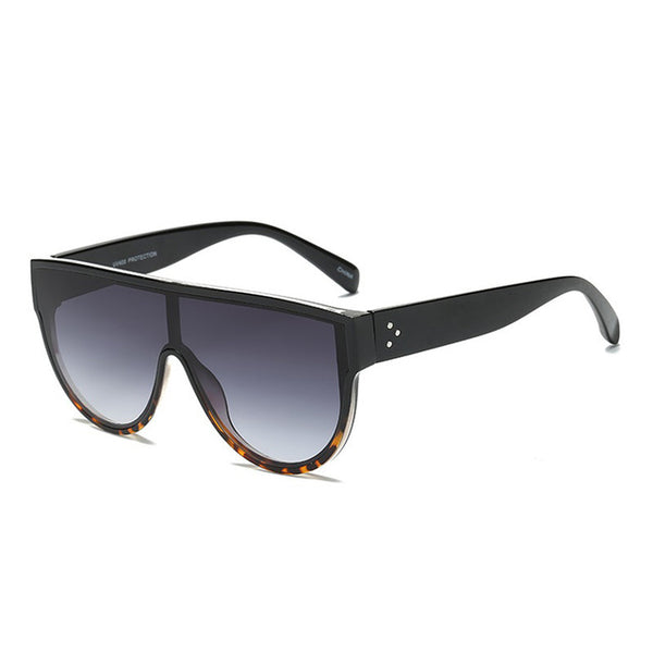 Venus- Flat Top Oversized Chic Sunglasses