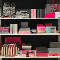 Shelving display Designers Guild Kings Road London