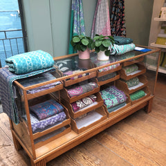 Display shelves Designers Guild Kings Road