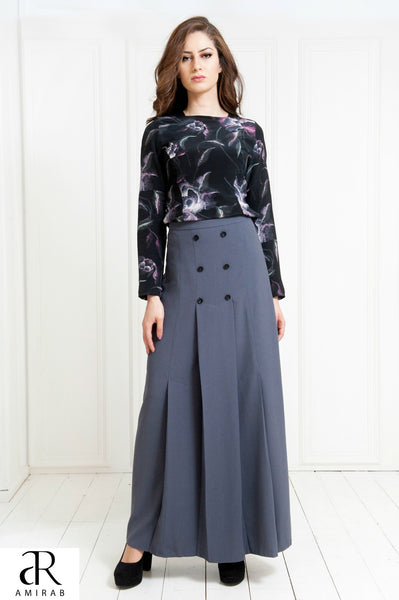 ladies maxi skirt for formal wear