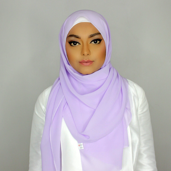 English lavender hijab