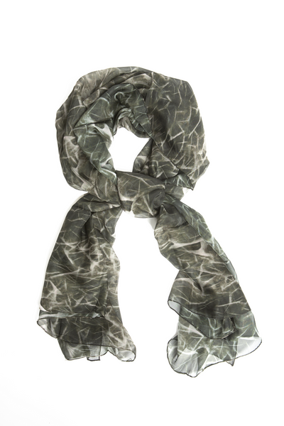 Digital Printed Scarf - Amirab - 2