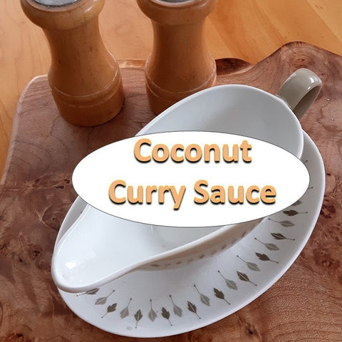 8d. Coconut Curry Sauce