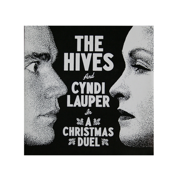 The Hives & Cyndi Lauper - A Christmas Duel CD