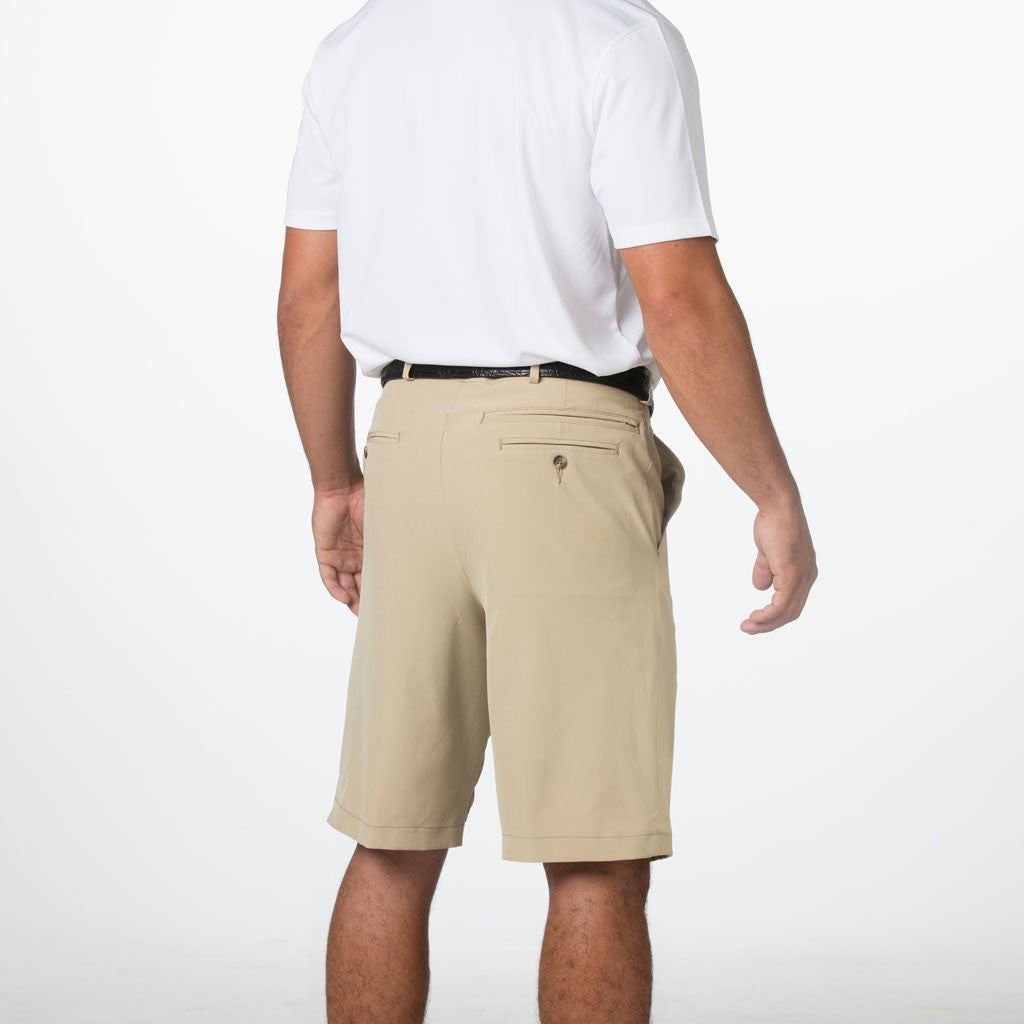 Stretch Performance Golf Shorts | Khaki