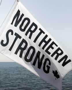 Northern Strong Flag - Flag - Wolfe Co. Apparel and Goods
