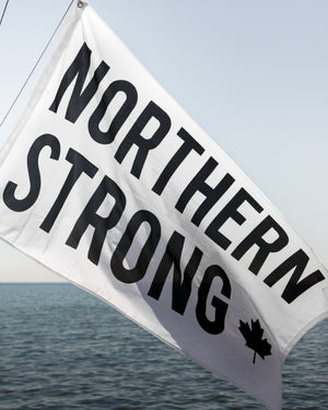 Northern Strong Flag - Wolfe Co. Apparel and Goods