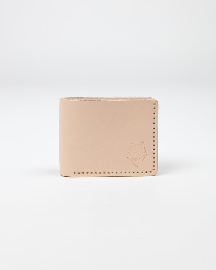 Naked Leather Wallet - Wolfe Co. Apparel and Goods