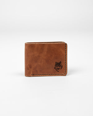 English Tan Wallet - Wolfe Co. Apparel and Goods
