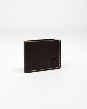 Chocolate Leather Wallet - Wolfe Co. Apparel and Goods