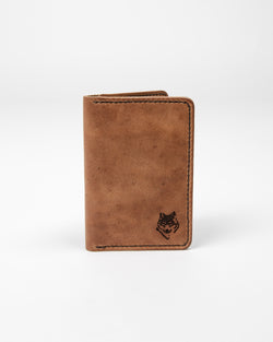 English Tan Passport Cover - Wallet - Wolfe Co. Apparel and Goods