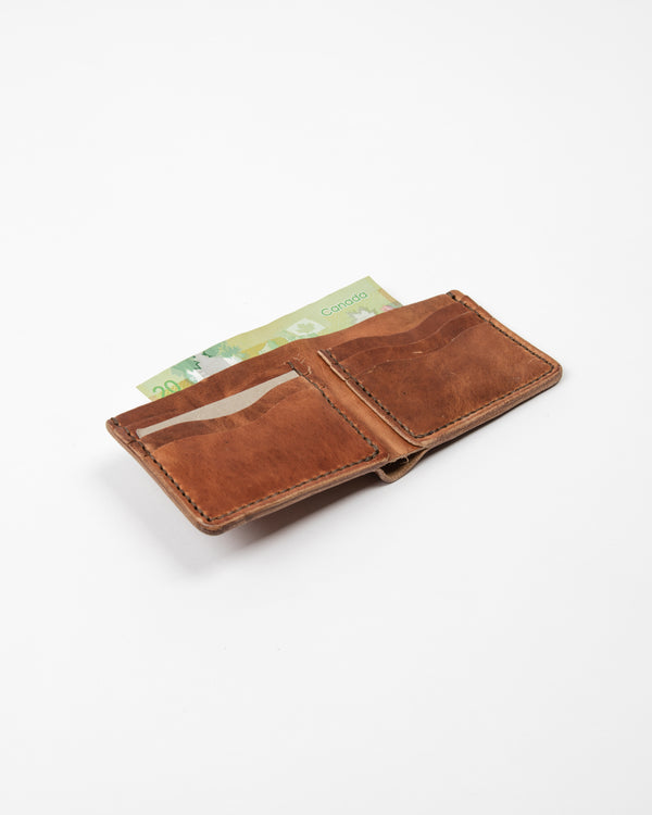 English Tan Wallet - Wallet - Wolfe Co. Apparel and Goods