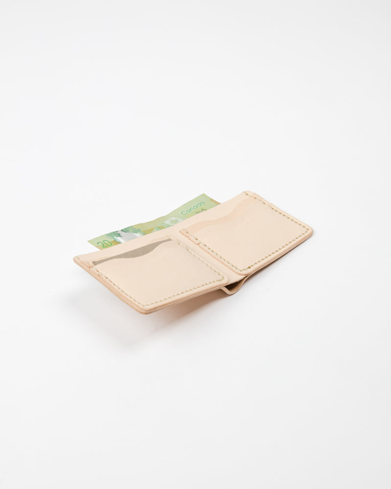 Naked Leather Wallet - Wallet - Wolfe Co. Apparel and Goods