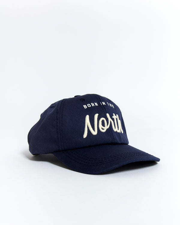 Born in the North Retro Ballcap - Hats - Wolfe Co. Apparel and Goods