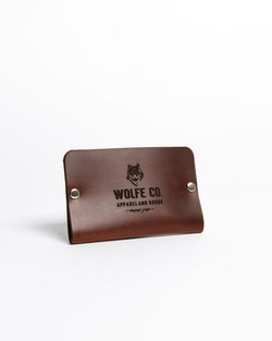 Card Holder - Wallet - Wolfe Co. Apparel and Goods