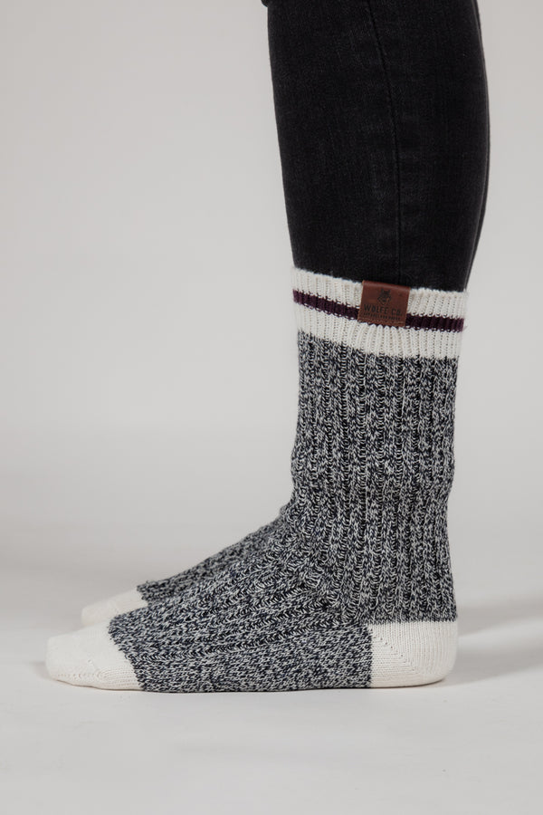 Women's Socks 2-Pack - Wolfe Co. Apparel and Goods®