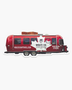Airstream Sticker - Sticker - Wolfe Co. Apparel and Goods
