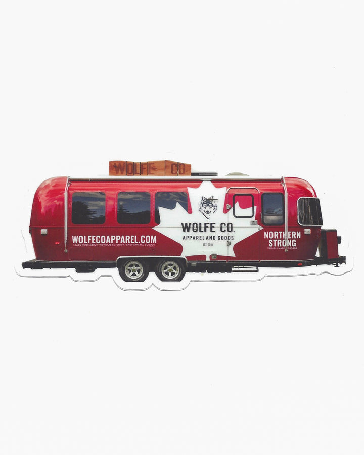 Airstream Sticker - Wolfe Co. Apparel and Goods
