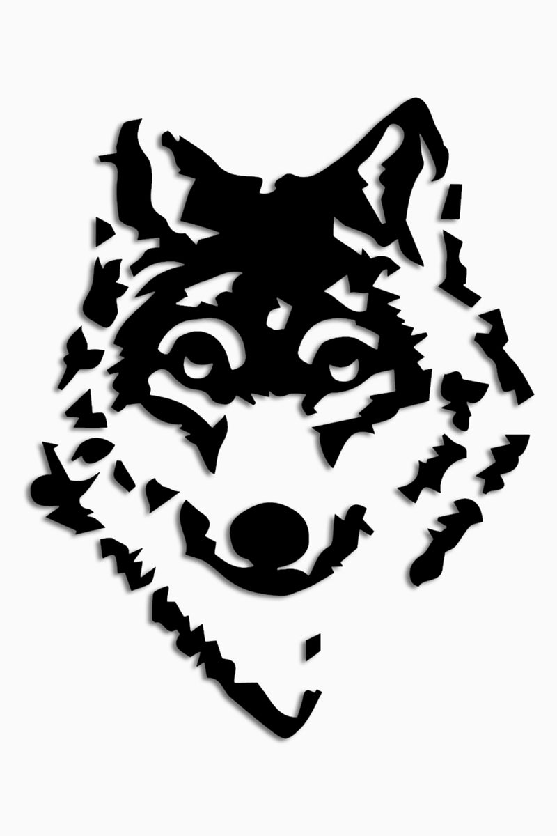 Wolf Sticker Decal Die Cut