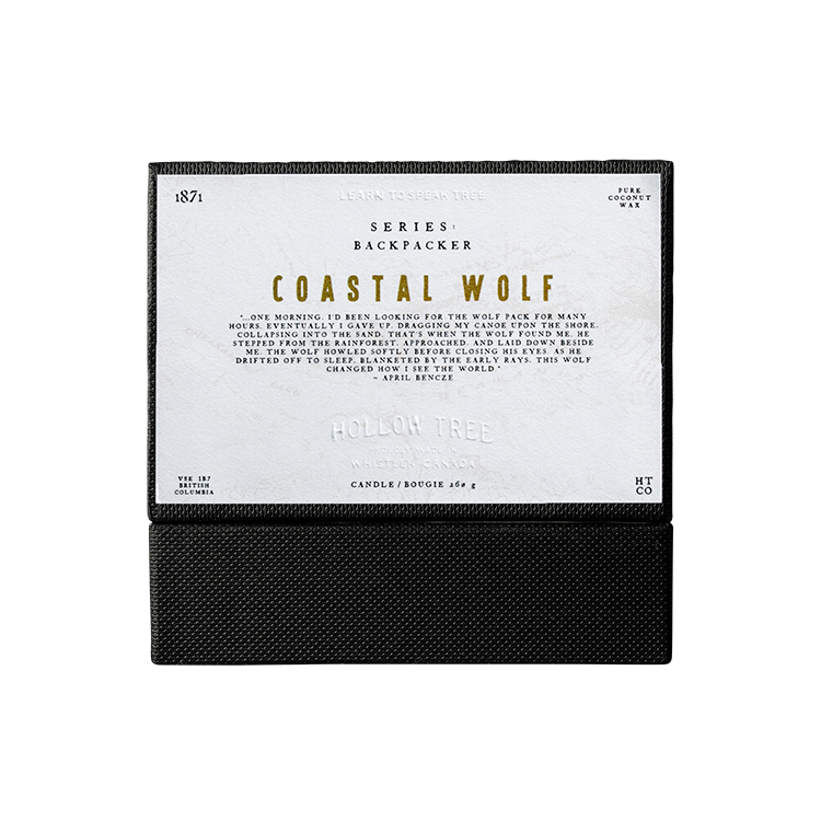 Coastal Wolf Candle - Candles - Wolfe Co. Apparel and Goods