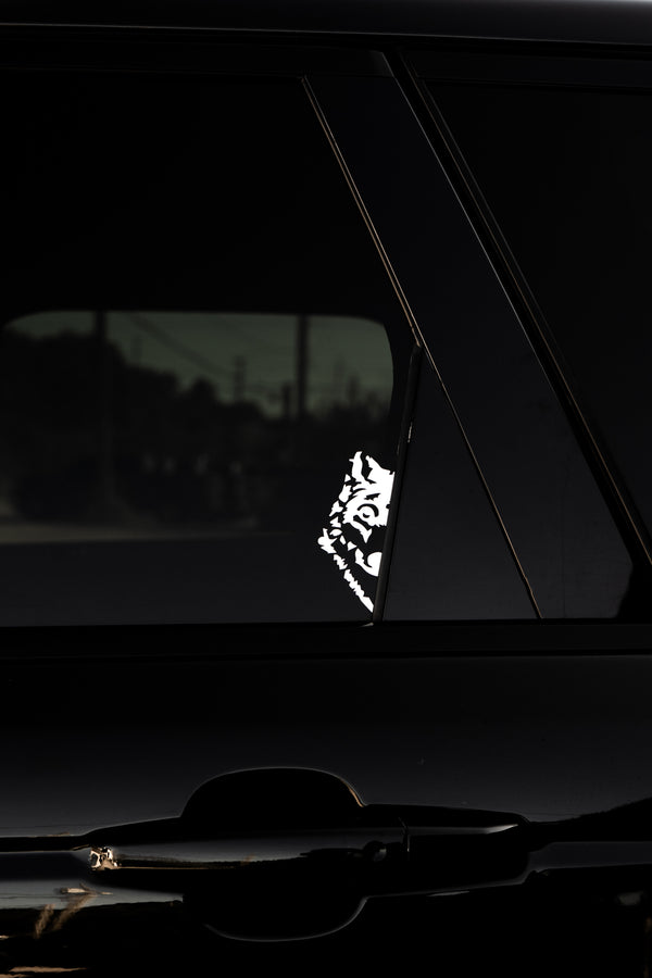 Light Wolf Decal