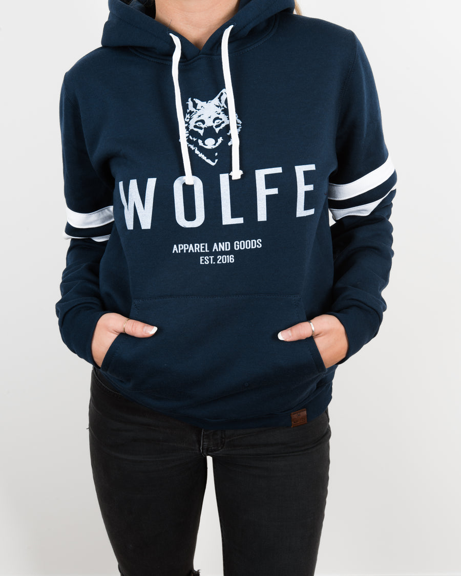Ashford Varsity Hoodie - Wolfe Co. Apparel and Goods