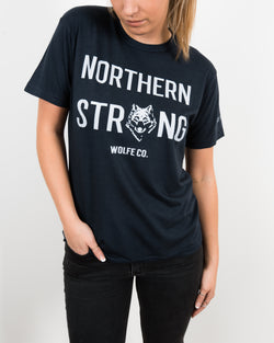 Northern Strong T-Shirt - Tops - Wolfe Co. Apparel and Goods