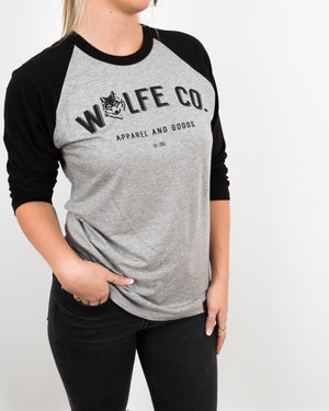 Reilly Baseball Tee - Wolfe Co. Apparel and Goods
