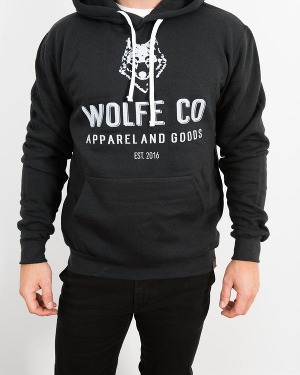 The Tradition Pullover Hoodie - Tops - Wolfe Co. Apparel and Goods