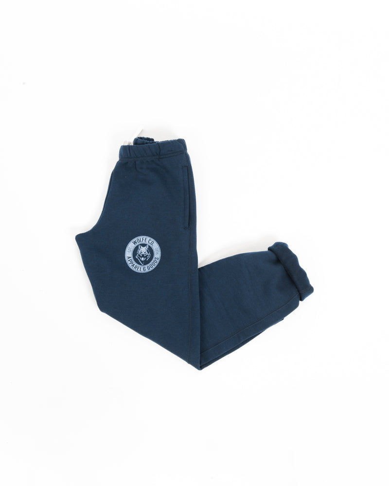 Navy Vintage Sweatpants - Bottoms - Wolfe Co. Apparel and Goods