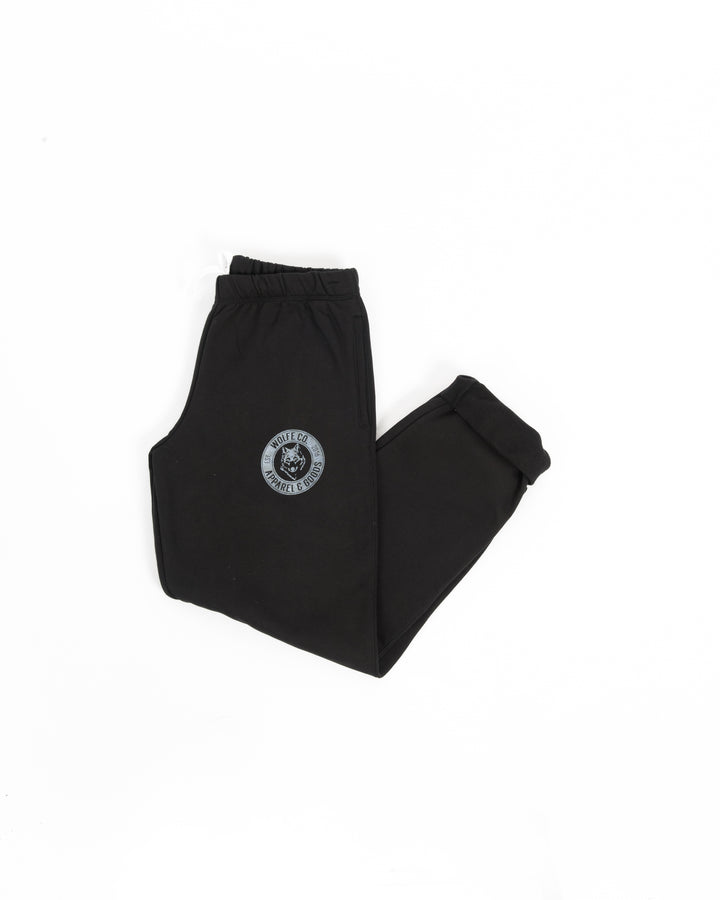 Black Vintage Sweatpants - Wolfe Co. Apparel and Goods