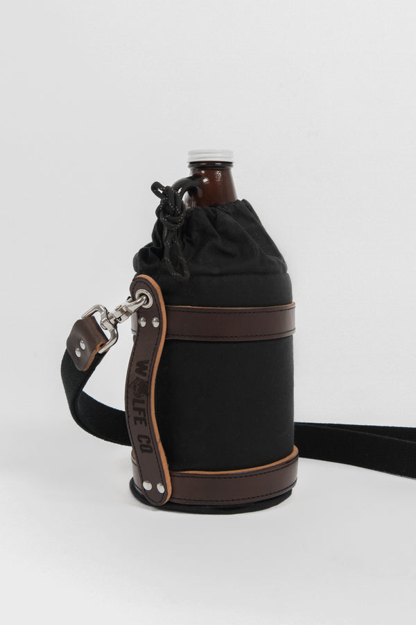 Growler Carrier - Wolfe Co. Apparel and Goods®