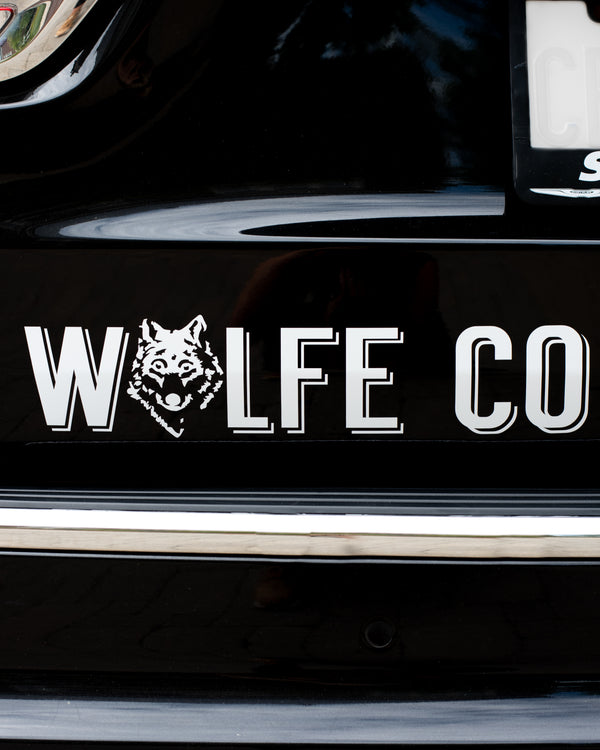Car Decal - Sticker - Wolfe Co. Apparel and Goods