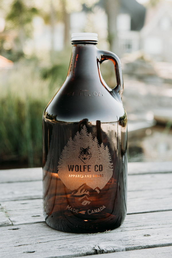 Growler - Wolfe Co. Apparel and Goods®