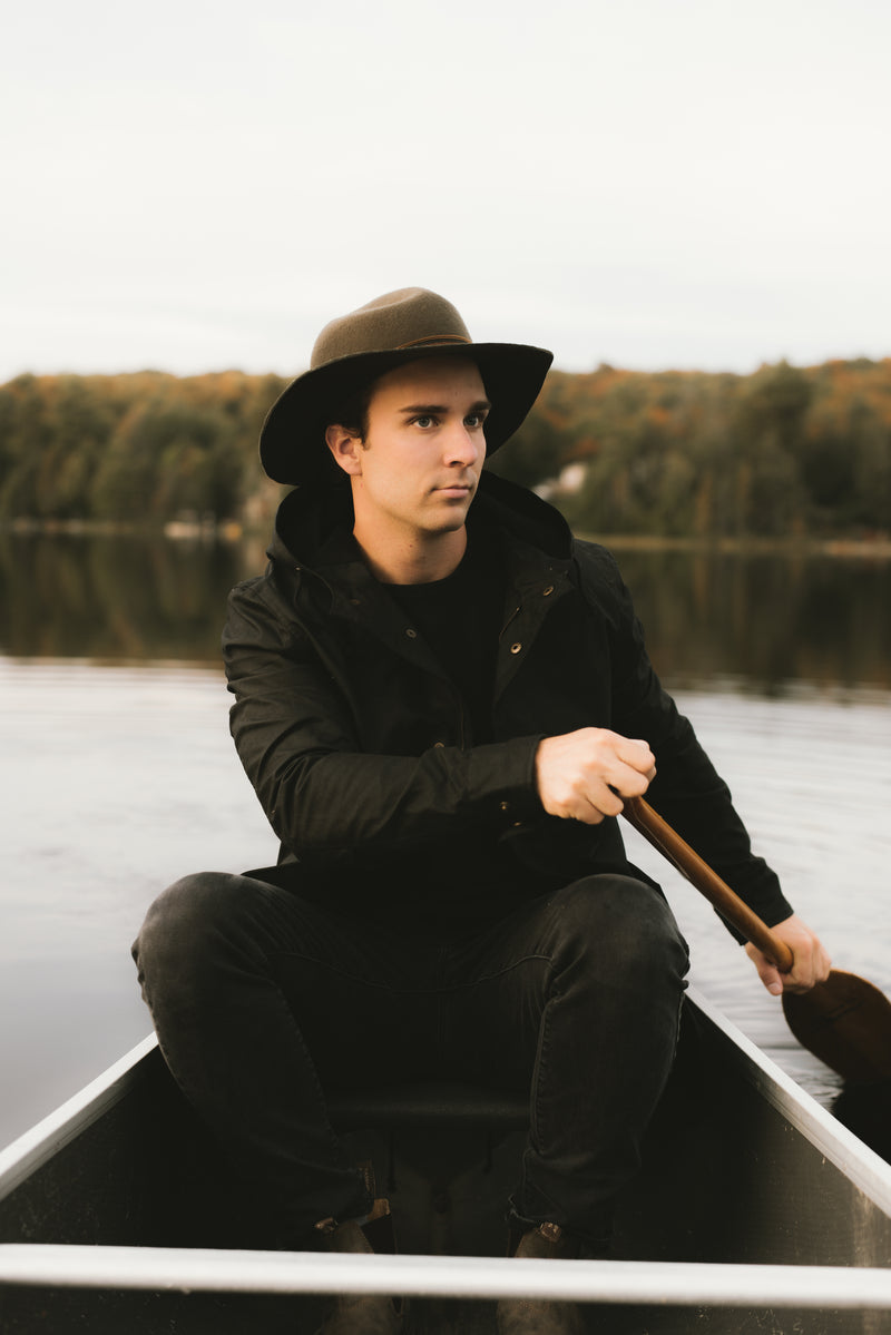 Black Dartmouth Jacket - Outerwear - Wolfe Co. Apparel and Goods