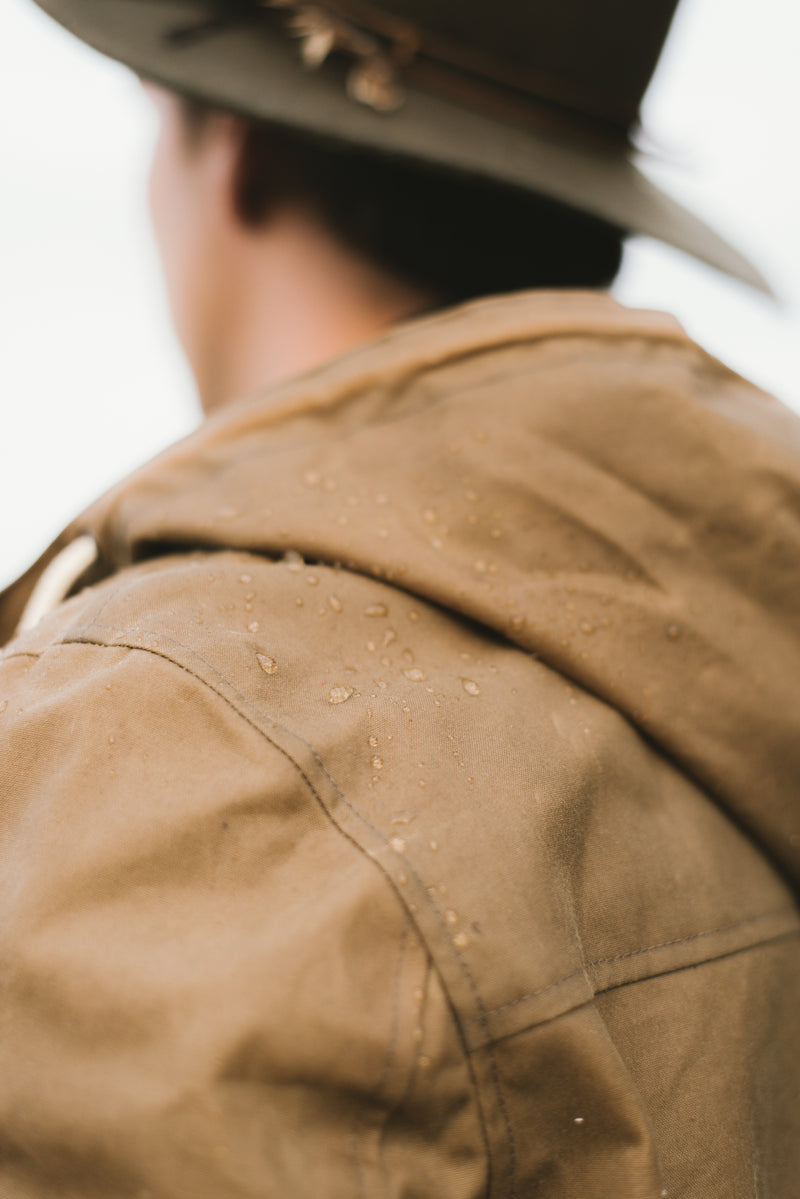 Beige Dartmouth Jacket - Outerwear - Wolfe Co. Apparel and Goods