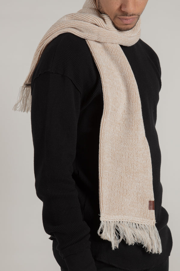 Longford Beige Scarf - Wolfe Co. Apparel and Goods®