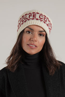 Ivory Winter Headband - Hats - Wolfe Co. Apparel and Goods