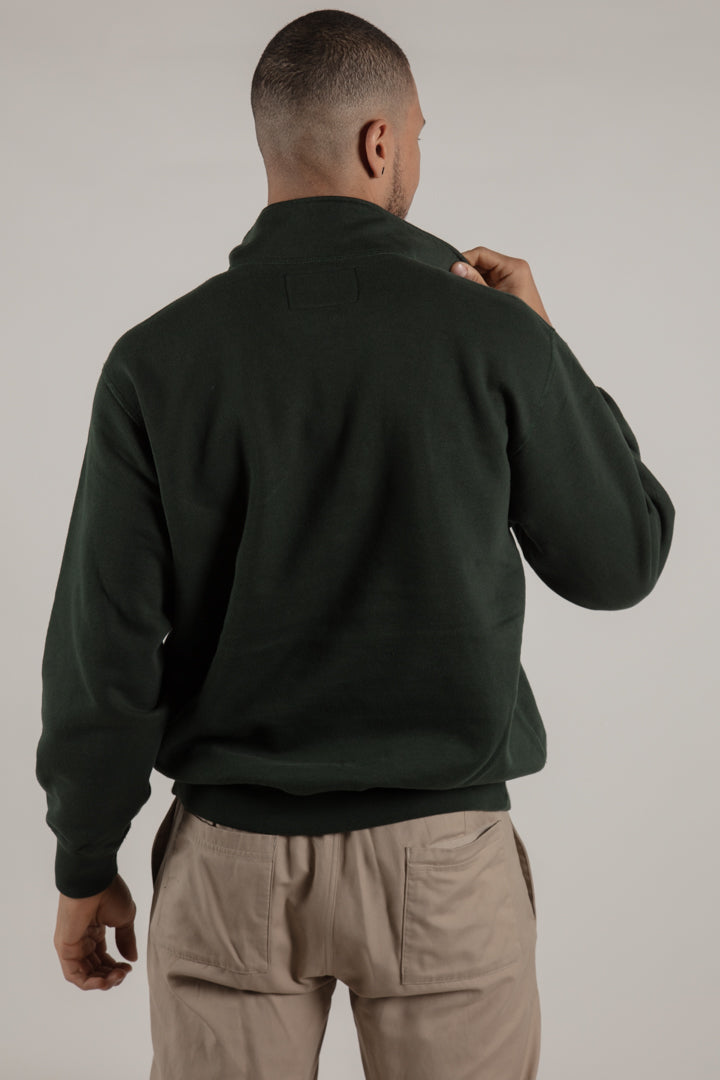 Born in the North Forest Quarter Zip - Wolfe Co. Apparel and Goods®