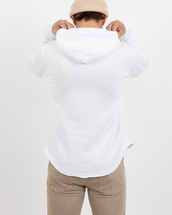 White Scoop Pullover - Tops - Wolfe Co. Apparel and Goods