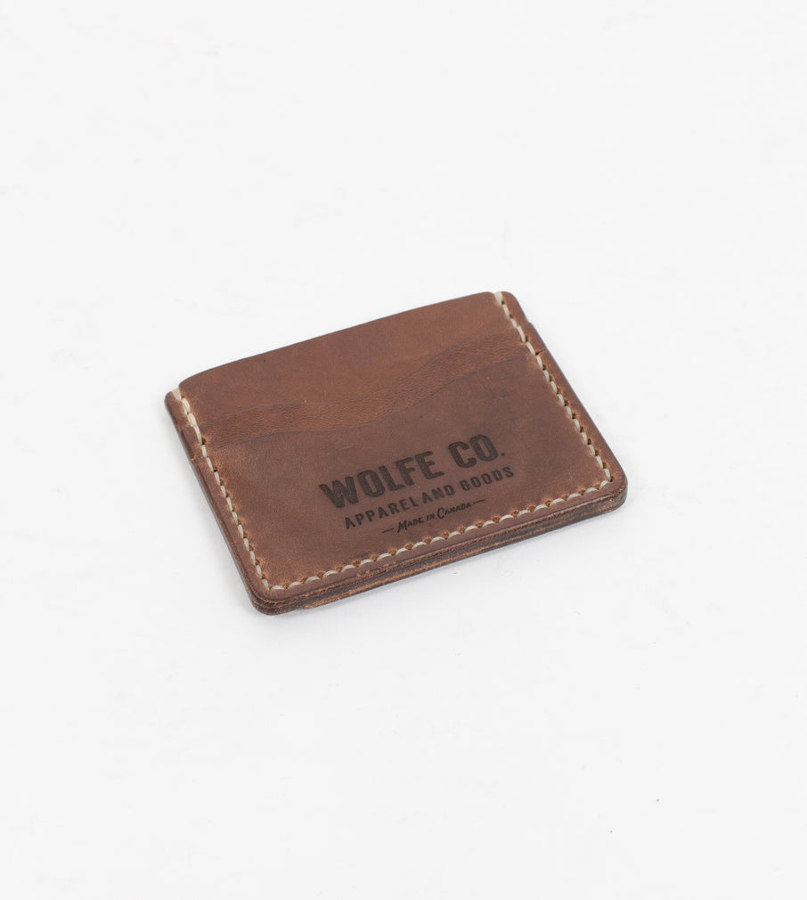 Driftwood Flat ID Wallet - Wallet - Wolfe Co. Apparel and Goods