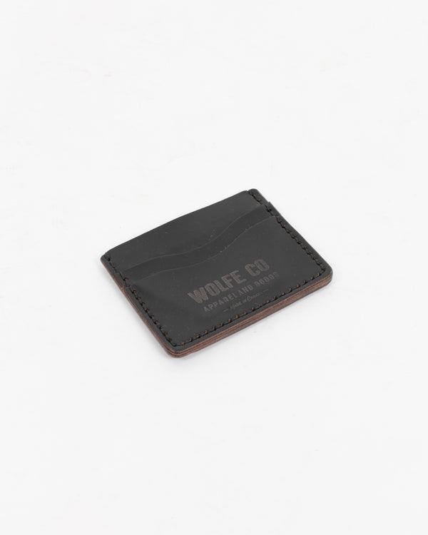 Black Flat ID Wallet