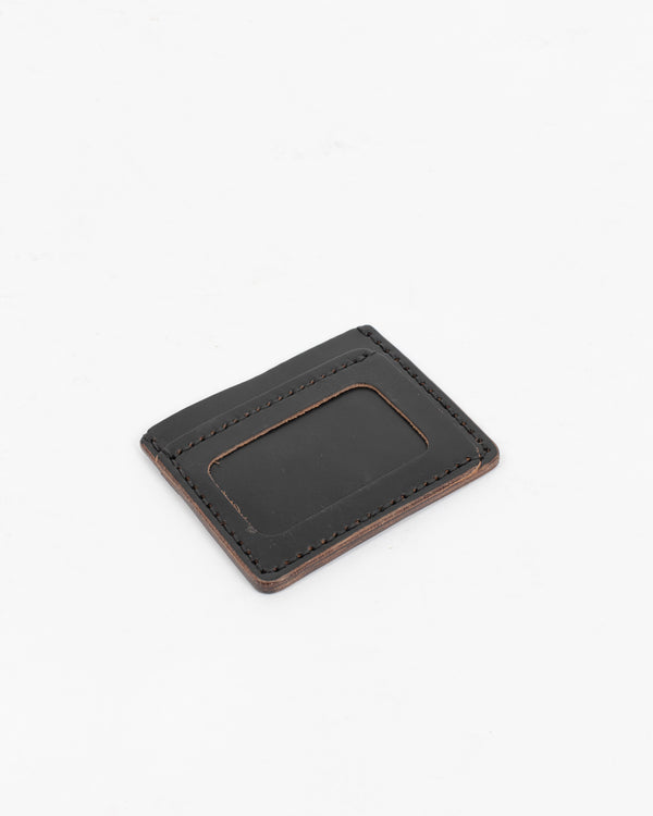 Black Flat ID Wallet - Wallet - Wolfe Co. Apparel and Goods