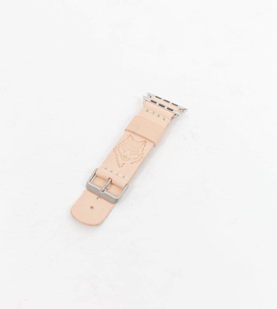 Naked Leather Apple Watch Strap - Watch Strap - Wolfe Co. Apparel and Goods