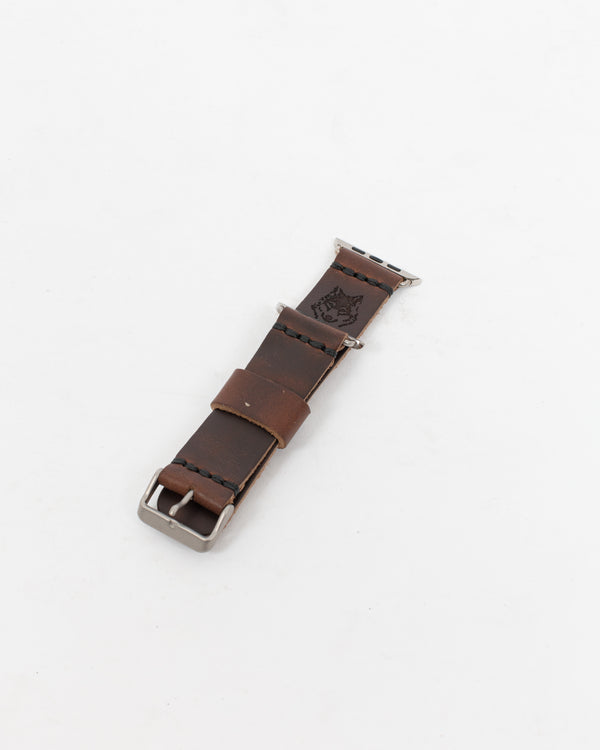 Chocolate Leather Apple Watch Strap