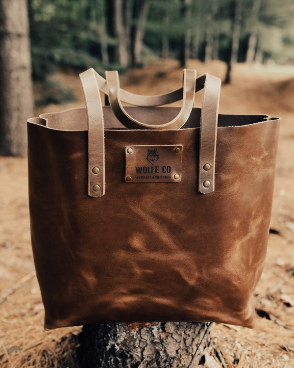 Heritage Tote - Bag - Wolfe Co. Apparel and Goods