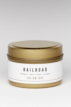 Railroad 4oz Travel Size Candle